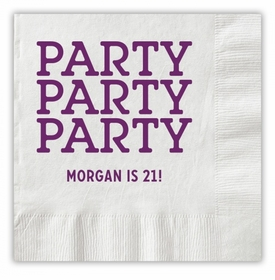 Party Party Party Napkins
