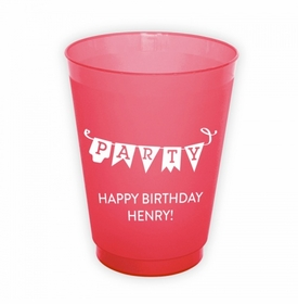 Party Pennant Cups