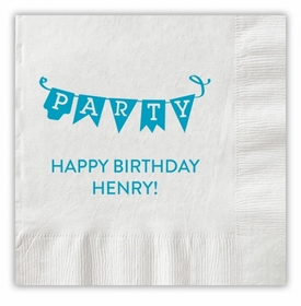Party Pennant Napkins