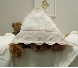 payton's posie hooded towel by sweet william