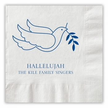 Peace Dove Napkins