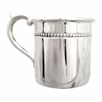 pearls sterling baby cup