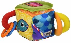 peekaboo surprise cube by lamaze
