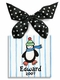 penguin christmas ornament   (boy)