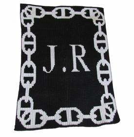 personalised chain link blanket (not available)