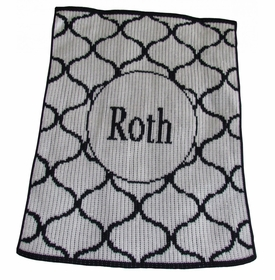 personalised lattice design blanket