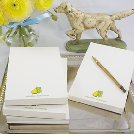 personalized 4x6 inch note pads (set of 4)