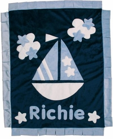 personalized ab sea blanket