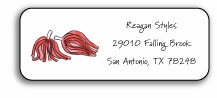 personalized address labels � cheer squad