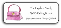 personalized address labels � handbag maven