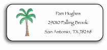 personalized address labels � palm paradise