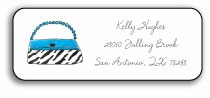 personalized address labels � wild for purses