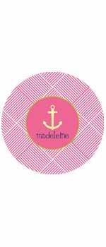 personalized anchor plate (style 1p)