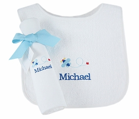 Personalized Burp Cloths And Bibs Baby Gifts Shower Gifts Baby