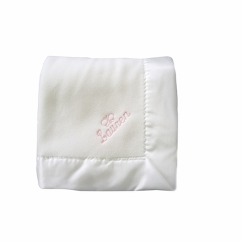 personalized baby blanket - butterfly