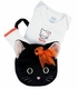 personalized baby halloween gift set - kitty cat