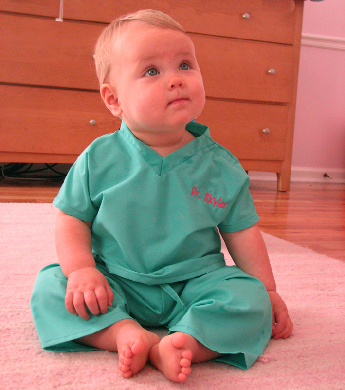 Personalized Baby Scrubs Featured At Babybox Com