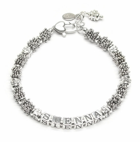 personalized back to bali bracelet