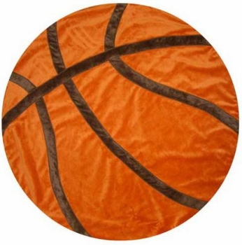 personalized basketball blanket