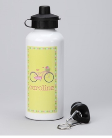 personalized beach cruiser water bottle