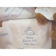 personalized bib and blanket set by sweet william