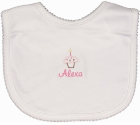 personalized birthday bib