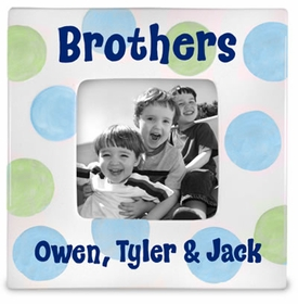 personalized brothers frame