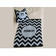 personalized chevron baby blanket stroller size