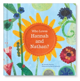 personalized child's book - who loves me (siblings)