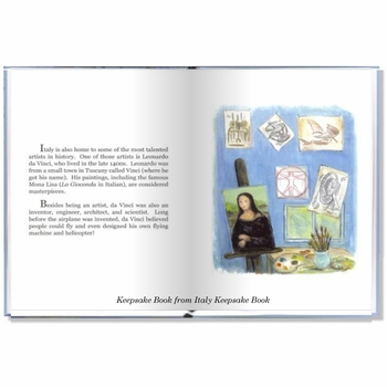 personalized children's heritage book