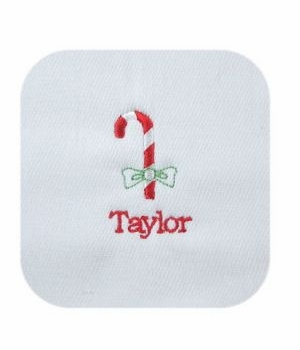 personalized christmas layette set