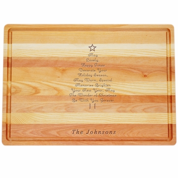 Personalized Christmas Tree Master Collection Large Board