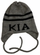 personalized classic name & stripes Hat with Earflaps