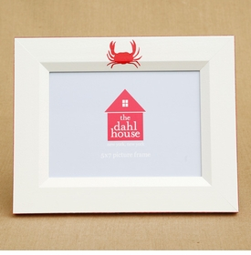 personalized crab picture frame