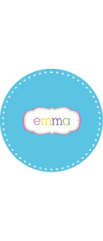 personalized crest  plate (style 1p)