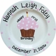 personalized cupcake plate
