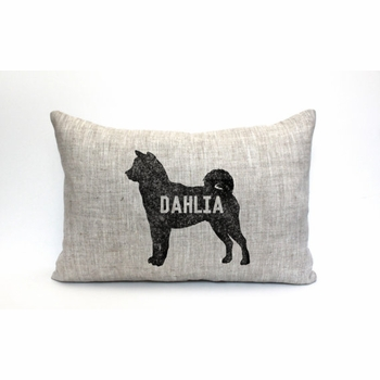 personalized doggie pillow
