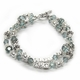 personalized double drama mother's bracelet