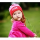 personalized ear flap hat (multi stripe)