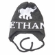 personalized Elephant Hat with Earflaps