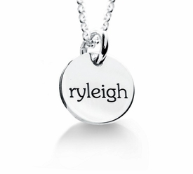 personalized elle collection 1 tag mommy necklace