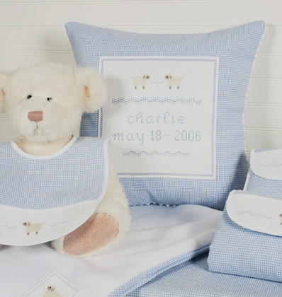Message Baby Pillows For Any Occasion-Custom Embroidery