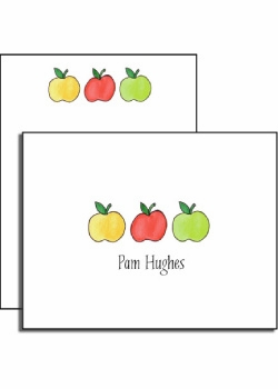 personalized everyday notes – apples to apples