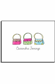 personalized everyday notes - handbag haven
