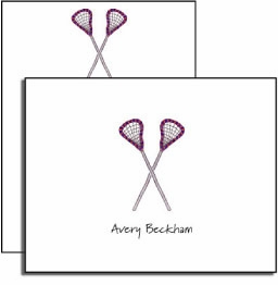 personalized everyday notes � lacrosse