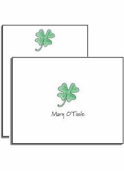 personalized everyday notes – lucky clover