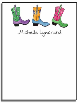 personalized everyday notes - rhinestone cowgirl