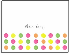 personalized everyday notes � sherbert dots