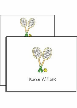 personalized everyday notes – tennis pro