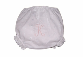 personalized eyelet bloomer